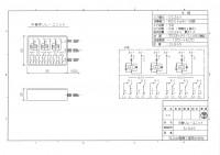 3L6AS 3入力6無電圧接点出し 図面