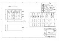 5L10AS 5入力10無電圧接点出し 図面