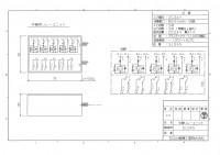 5L5AS 5入力5無電圧接点出し 図面