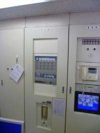 既設防災盤を新型防災盤取付加工2